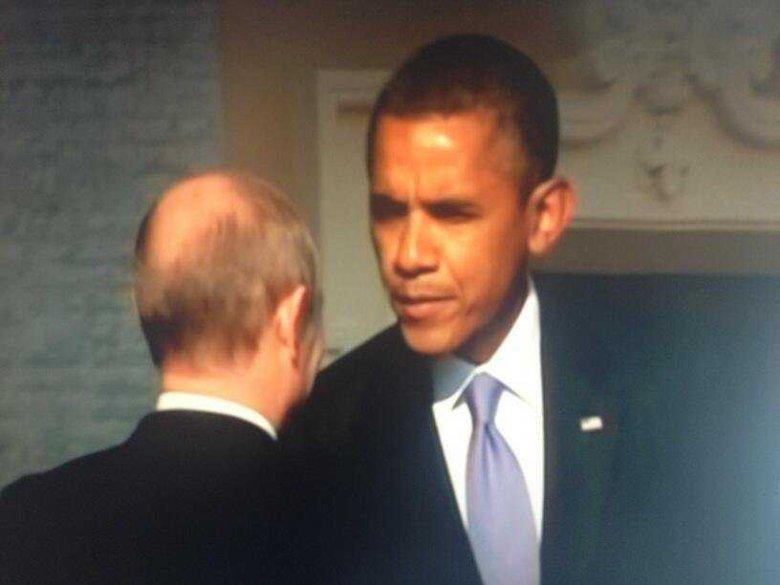Разговоры Обамы и Путина в Китае сводились почти исключительно к обмену любезностями, - The Los Angeles Times - Цензор.НЕТ 9552