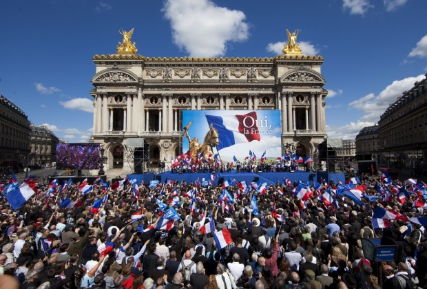 May Day National Front rally