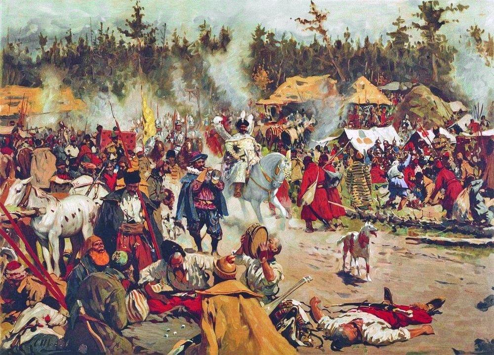 Тушинский лагерь.