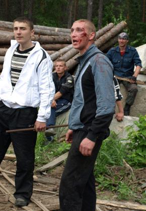 Когда люди приходят не драться, а убивать. Майдан этим закончился. В России же бунты этим только начнутся. height=419