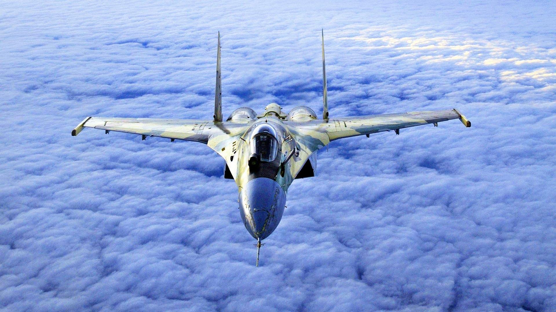 СУ-35, новейший сверхманевренный истребитель, совершивший первый полет лишь в 2008 году. Украина может ему противопоставить... ничего