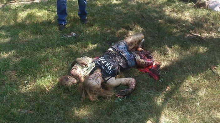 Только за сегодня, только в Горловке убито свыше 30 мирных русских