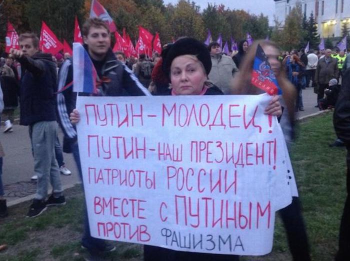 Все-таки даже у СССР кроме культа Сталина были еще планы мировой революции и освобождения трудящихся.