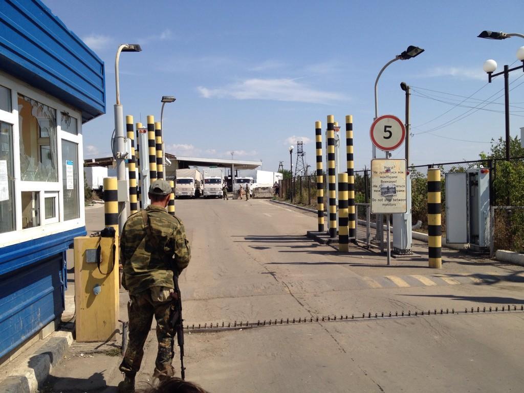 Сражавшиеся за контроль над границей ополченцы тоже слабо понимают, зачем было туда возвращать украинских пограничников.