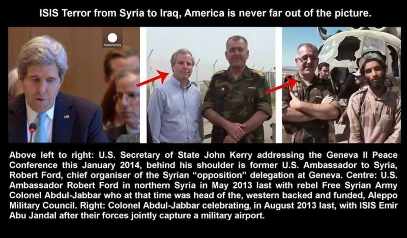 US-ambassador-Kerry's-Robert-Ford-with-FSA-and-ISIL-terrrorists.-e1410714490215