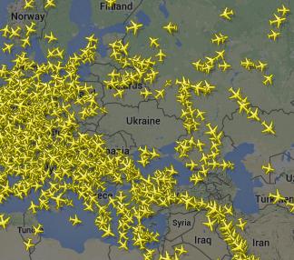 Над всей Украиной безоблачное небо!