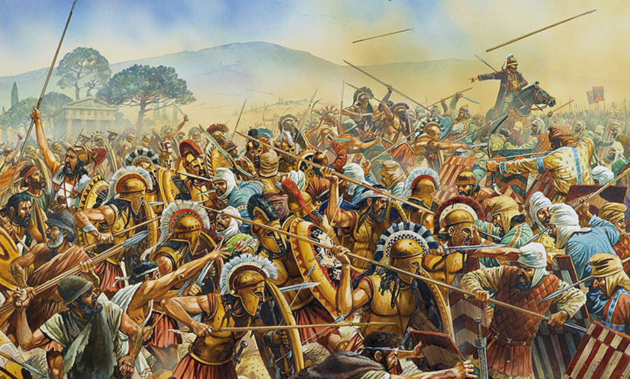 a history of greco persian war The battle waged on the marathon plain of northeastern attica in 490 bc marked the first blows of the greco-persian war with the persians closing in on the greek capitol, athenian general.