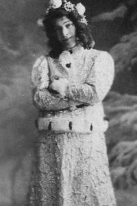 Забела-Врубель в роли Снегурочки