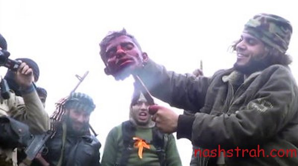 """Казнь сирийского солдата вИГИЛ: «Немыслимое варварство! Немедленно начать бомбардировки! Активируйте Каспийскую флотилию, заряжайте """"Граниты"""", отгружайте Т-90!»"""