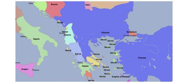 Сербия и Косово в 1400 году