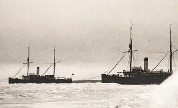 Ледокольные транспорты «Таймыр» и «Вайгач»