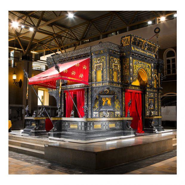 Каслинский чугунный павильон, сделанный уральскими мастерами. Представлен на парижской выставке 1900 года, в настоящее время входит в список всемирного наследия ЮНЕСКО, хранится в Екатеринбургском музее изобразительных искусств