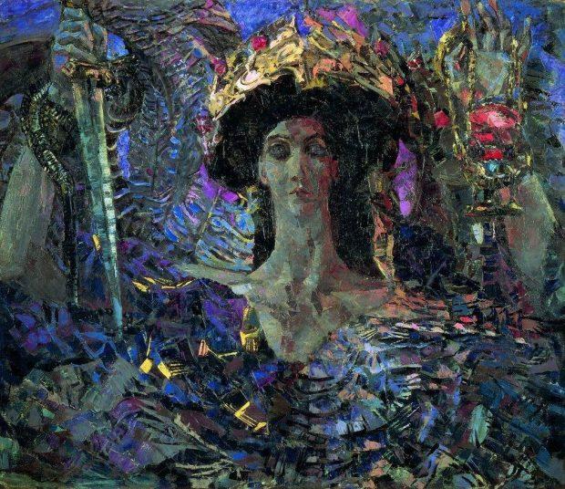 «Шестикрылый серафим Азраил» (1904)