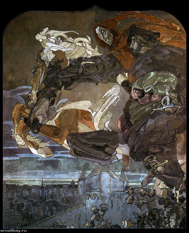 «Полет Фауста и Мефистофеля» (1886)